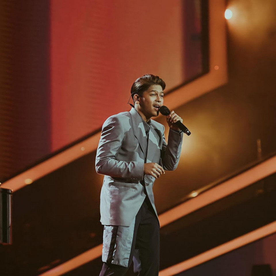 9 Potret Adu Gaya 3 Finalis Indonesian Idol, Mana Favoritmu - Foto 5