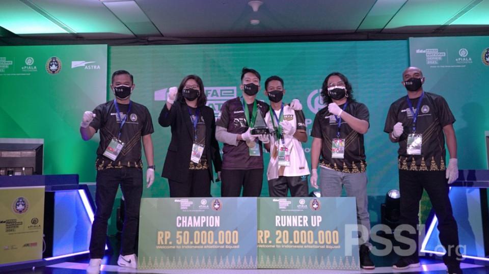 Moehamad Zulisar Keluar sebagai Juara ePiala Indonesia
