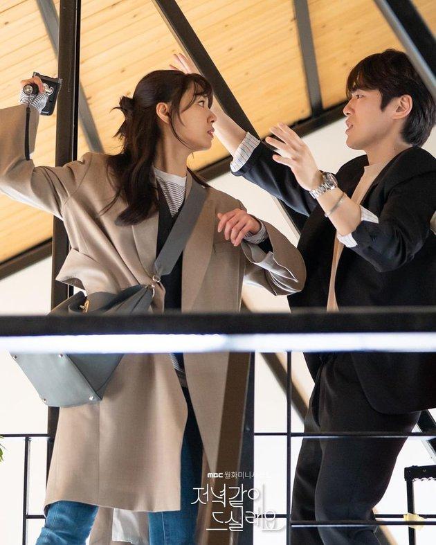 Dikabarkan Cinlok, 7 Potret Kedekatan Seo Ji-hye dan Kim Jung-hyun - Foto 4