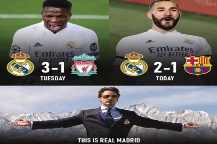 7 Meme Kocak El Clasico Madrid vs Barcelona, Bikin Gak Berhenti Ketawa - Foto 6