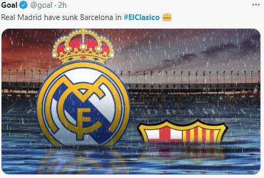 7 Meme Kocak El Clasico Madrid vs Barcelona, Bikin Gak Berhenti Ketawa - Foto 5