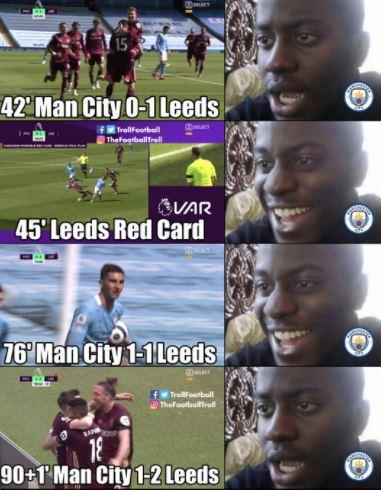 5 Meme Kocak Kekalahan Man City di Liga Primer, Kayaknya Gak Ngaruh Juga - Foto 5