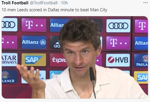 5 Meme Kocak Kekalahan Man City di Liga Primer, Kayaknya Gak Ngaruh Juga - Foto 1