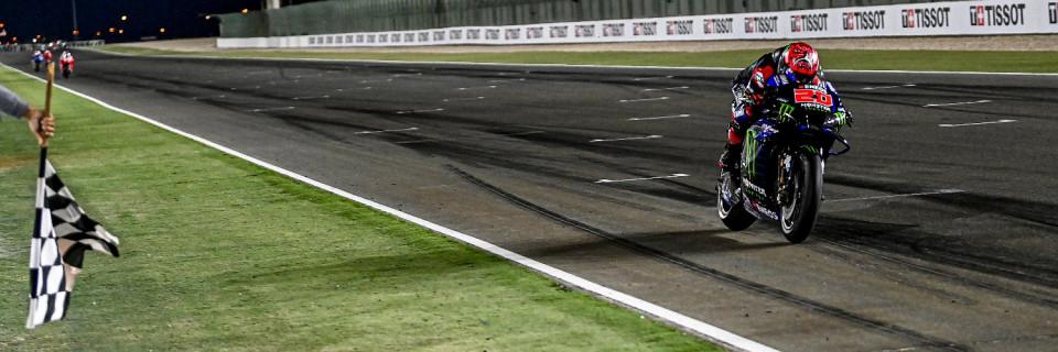 FP3: Quatararo Tercepat, Rossi dan Marquez Tercecer Keluar 10 Besar