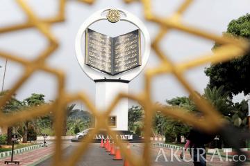 Tugu Al Quran Tertinggi Dunia ada di Istana Anak Yatim