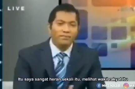Bikin Geleng Kepala, Begini Video Viral Anggota DPR Diroasting Lewat Telepon di Acara TV - Foto 2