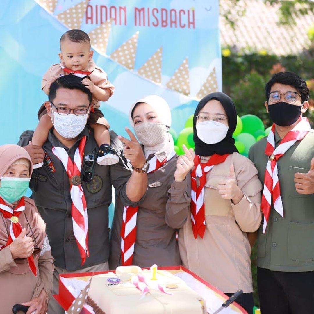 7 Potret Terbaru Arkana Aidan Misbach, Anak Ridwan Kamil yang Bikin Warganet Gemas - Foto 4