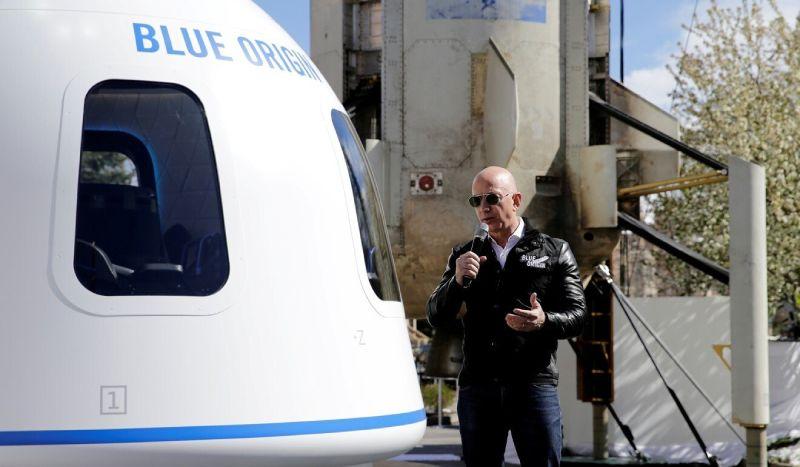 Perusahaan Blue Origin Milik Jeff Bezos akan Buka Perjalanan Tamasya ke Orbit Bumi - Foto 1