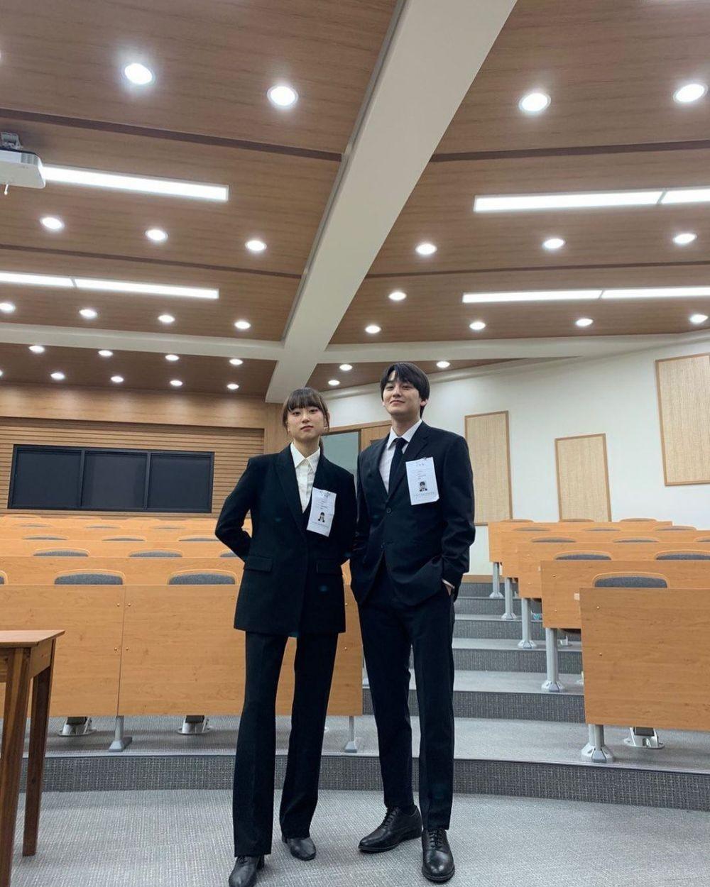 7 Potret Serasi Ryu Hye-young dan Kim Bum di Drama Law School, Bikin Baper Abis - Foto 2
