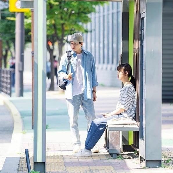 7 Potret Serasi Ryu Hye-young dan Kim Bum di Drama Law School, Bikin Baper Abis - Foto 5