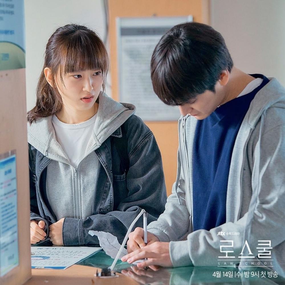 7 Potret Serasi Ryu Hye-young dan Kim Bum di Drama Law School, Bikin Baper Abis - Foto 6