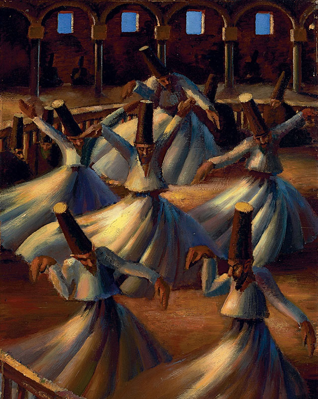 Tembus Rp39 M Ini 5 Lukisan oleh Seniman Islam Termahal Sepanjang Sejarah - Foto 2