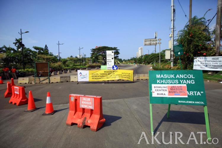 Corona Jakarta Menggila, Kawasan Wisata Ancol Kembali Tutup - Foto 1