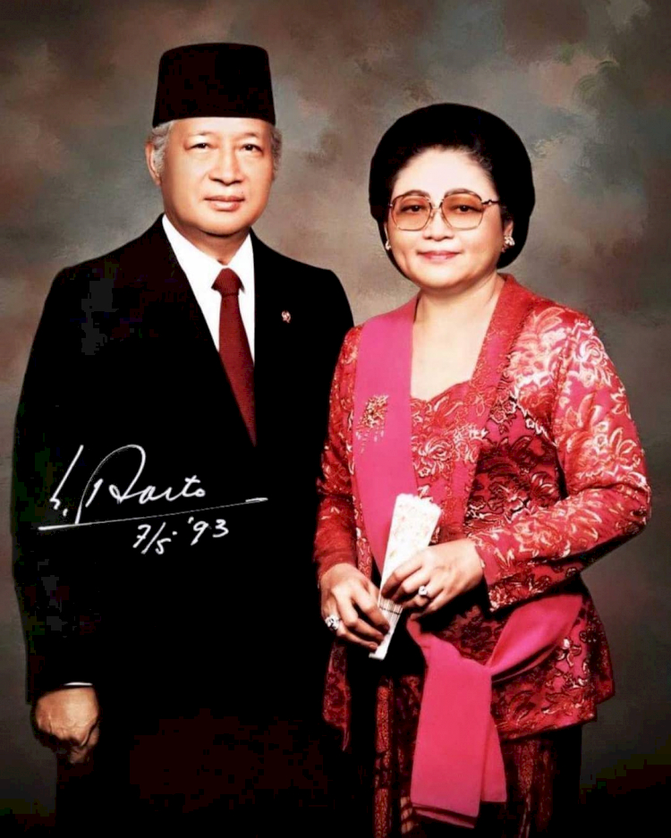 100 Tahun Soeharto, 7 Potret Hangat Kenangan Sang Presiden dengan Keluarga - Foto 1