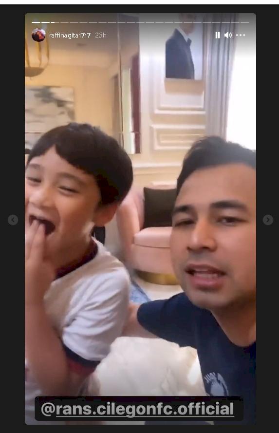 Raffi Ahmad Ingin Rafatar Meneruskan Kepengurusan RANS Cilegon FC - Foto 1