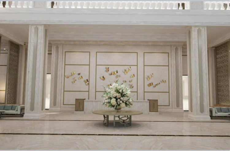 Bak Istana, 5 Potret Megah Rumah Duka Grand Heaven Surabaya - Foto 2