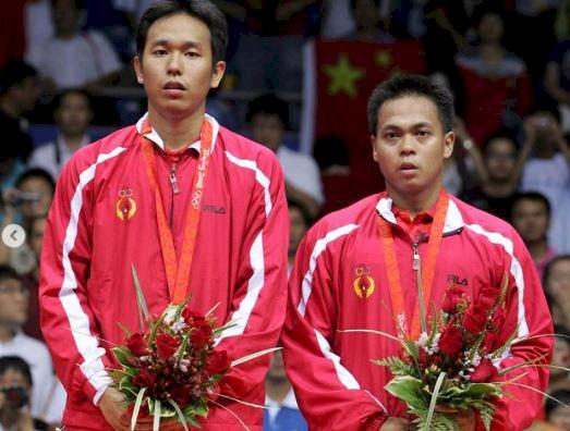 5 Potret Kenangan Markis Kido Sang Juara Sejati, Lambungkan Merah Putih di Olimpiade - Foto 5
