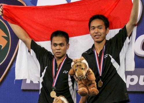 5 Potret Kenangan Markis Kido Sang Juara Sejati, Lambungkan Merah Putih di Olimpiade - Foto 4