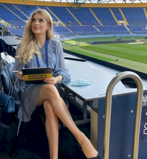 5 Foto Menawan Vlada Sedan Istri Bintang Ukraina Oleksandr Zinchenko - Foto 5