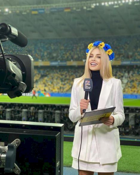 5 Foto Menawan Vlada Sedan Istri Bintang Ukraina Oleksandr Zinchenko - Foto 4