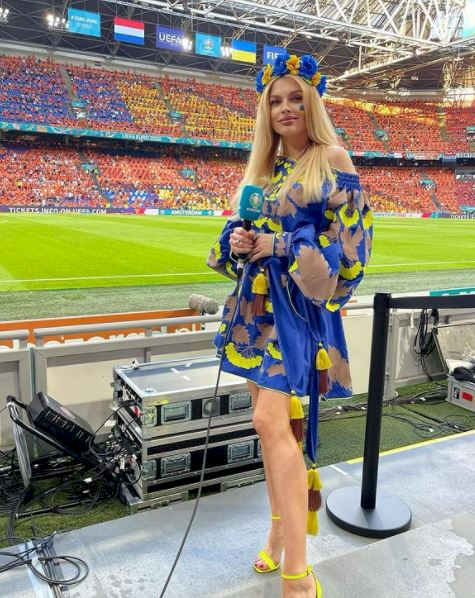 5 Foto Menawan Vlada Sedan Istri Bintang Ukraina Oleksandr Zinchenko - Foto 2
