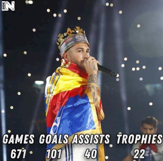 Ramos Tinggalkan Madrid, Ini 5 Ilustrasi Keren Gambarkan Hebatnya Karier di Madrid - Foto 2