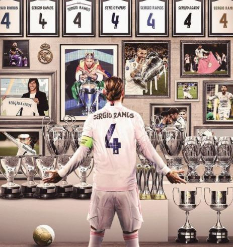 Ramos Tinggalkan Madrid, Ini 5 Ilustrasi Keren Gambarkan Hebatnya Karier di Madrid - Foto 3
