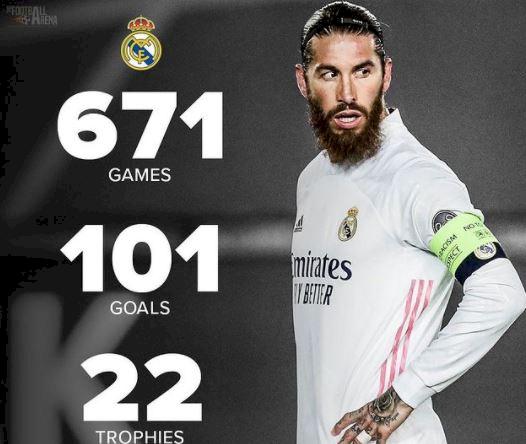 Ramos Tinggalkan Madrid, Ini 5 Ilustrasi Keren Gambarkan Hebatnya Karier di Madrid - Foto 4