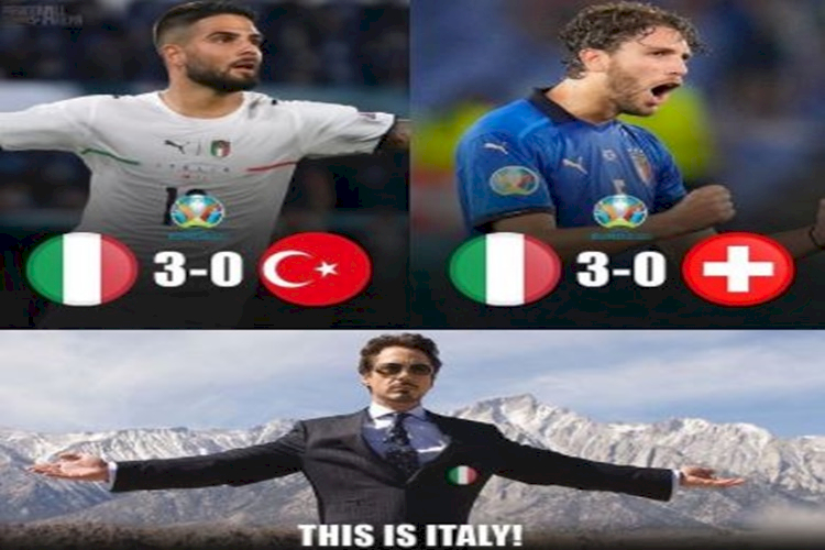 Lagi, 5 Meme Kocak Timnas Italia yang Bikin Imun Naik - Foto 1