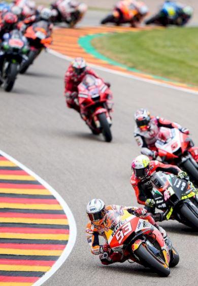 5 Foto Momen Emosional Marc Marquez Juarai MotoGP Jerman, 581 Hari Kembali ke Puncak - Foto 1