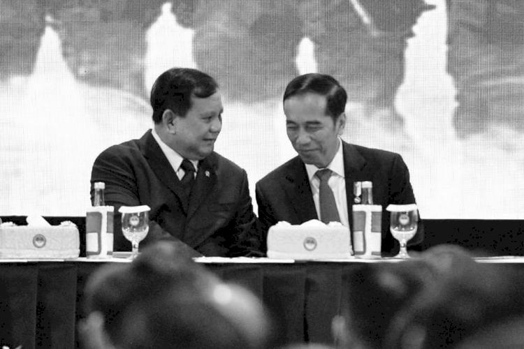 Hangat dan Kompak, 5 Momen Jokowi dan Prabowo saat Kerja Bareng - Foto 3