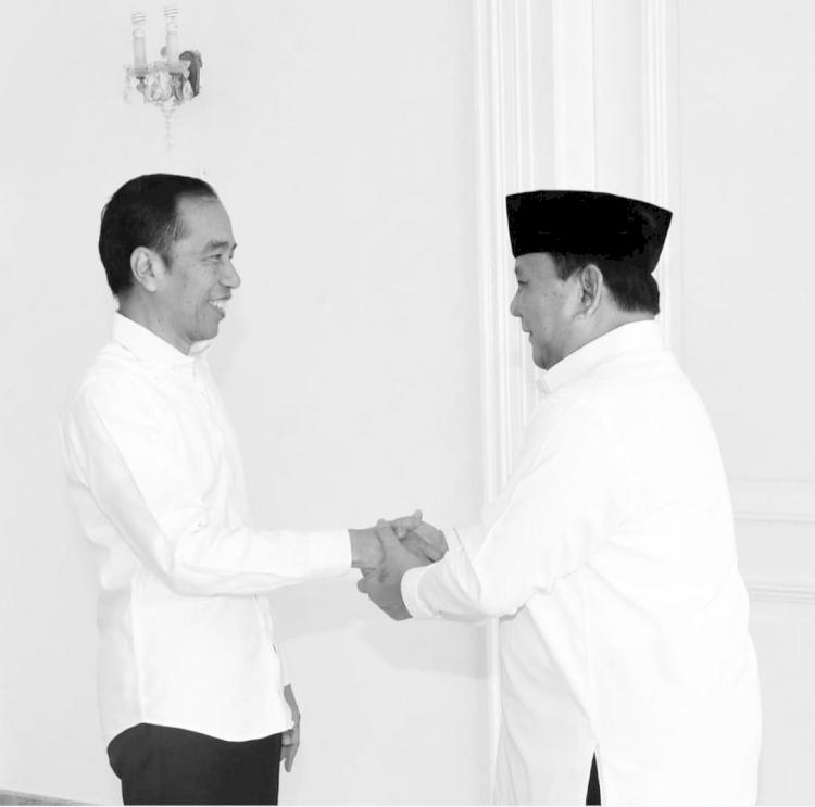 Hangat dan Kompak, 5 Momen Jokowi dan Prabowo saat Kerja Bareng - Foto 5