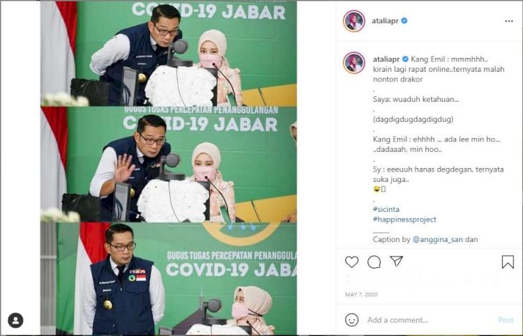 6 Momen Lucu Ridwan Kamil dan Istri, Bikin Mood Naik - Foto 5