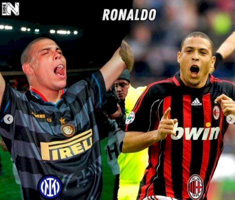 5 Foto Pemain Bintang yang Berseragam Inter dan Milan, Ada Pemain Juventus - Foto 4