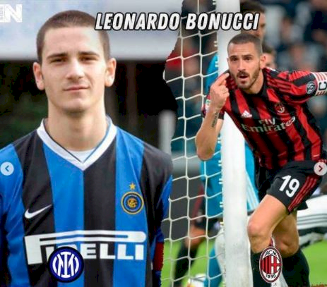 5 Foto Pemain Bintang yang Berseragam Inter dan Milan, Ada Pemain Juventus - Foto 5
