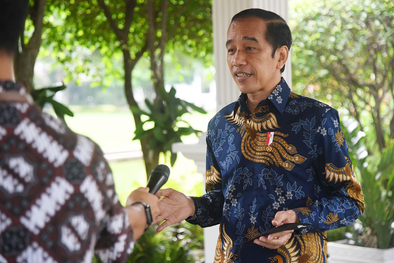 Presiden Jokowi Tanggapi Aksi Kritikan Mahasiswa di Gedung KPK