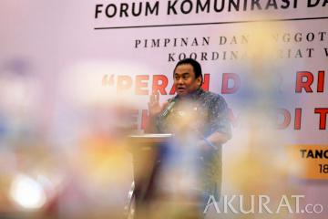Forum Komunikasi Membahas Peran DPR Dalam Pemulihan Ekonomi di Massa Pandemi