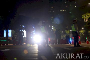 Polda Metro Jaya Berencana Majukan Jam Penyekatan di 10 Titik Jalan
