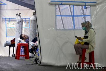 RSUD Cengkareng Sediakan Tenda Darurat untuk Screening Pasien COVID-19