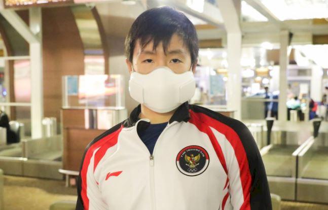 5 Potret Tim Bulu Tangkis RI Bertolak ke Jepang, PraveenMelati Kasih Tanda Cinta - Foto 2
