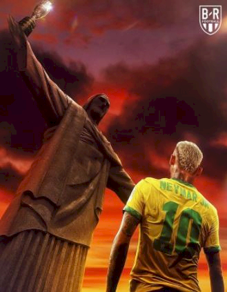 5 Ilustrasi Kece Neymar vs Messi di Final Copa America, Master vs Calon Penerus - Foto 3