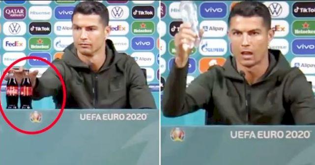 5 Momen Heboh selama Euro 2020, Eriksen Kolaps hingga Botol Coca Cola - Foto 2