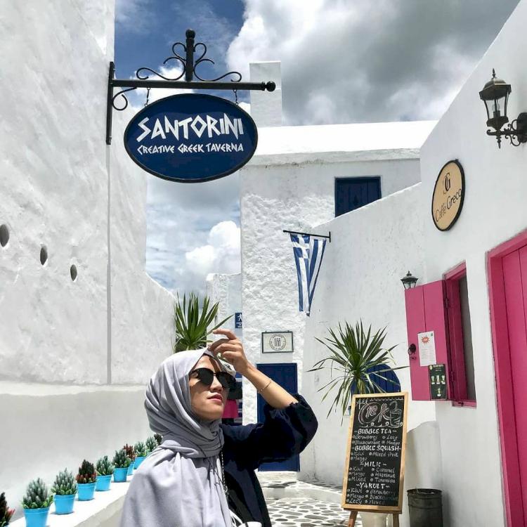 7 Potret Eksotis Wisata Bhumi Merapi, Spot Ala Santorini Jogja yang Instagramable - Foto 3