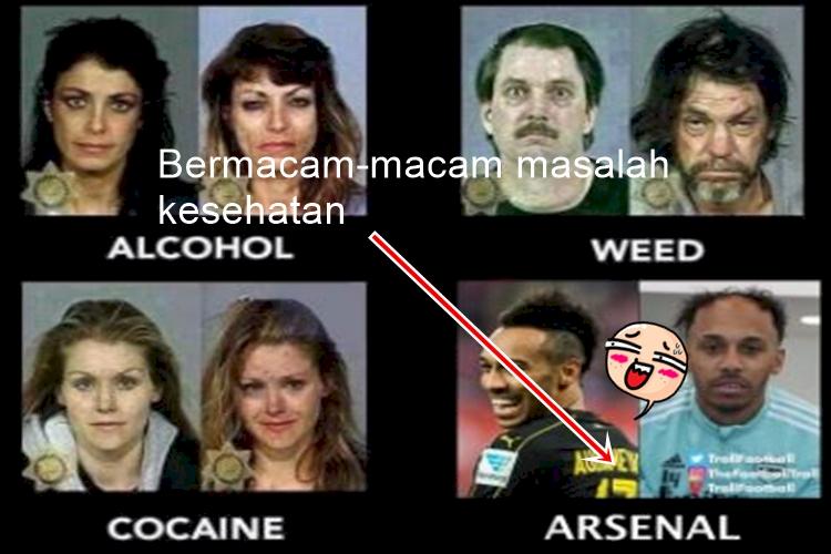 5 Meme Kocak Arsenal yang Bikin Harimu Penuh Tawa - Foto 4