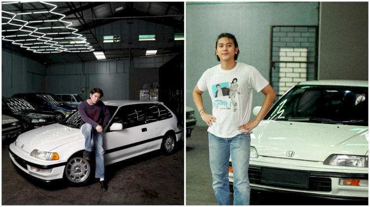 Hobi Mobil Tua, 7 Potret Ganteng Iqbaal Ramadhan Pamer Kendaraan Klasik - Foto 7