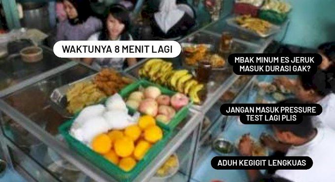 Kocak Abis, 5 Meme Peraturan PPKM Makan 20 Menit di Warung - Foto 4