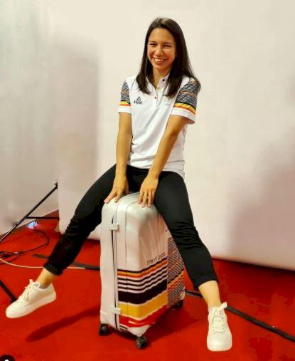 5 Potret Manis Liane Tan, Atlet Belgia Keturunan Indonesia yang juga Dokter Gigi - Foto 1