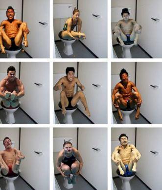 5 Foto Ekspresi Kocak Atlet Loncat IndahDiving, Mukanya pada Bengep - Foto 5