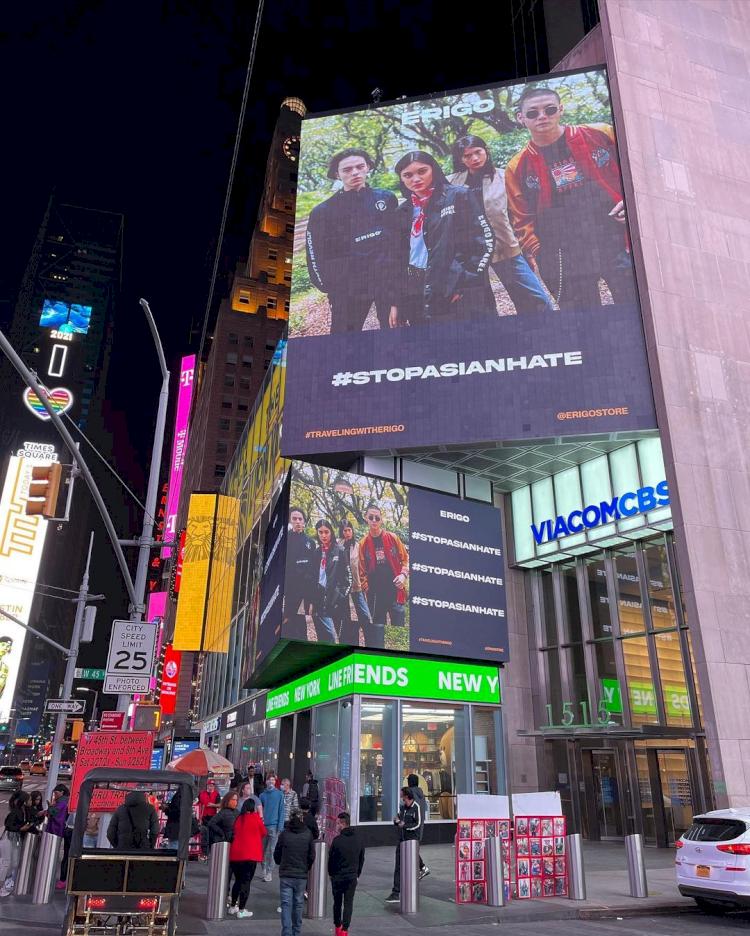 Musik hingga Brand Lokal, 5 Karya Kreatif Anak Bangsa Ini Hiasi Billboard Times Square - Foto 4