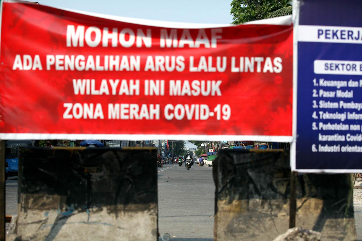 Zona Merah Covid-19 DKI Jakarta Tersisa 1 RT, Di Mana Lokasinya?